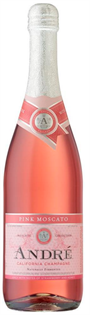 Andre Pink Moscato 750ml - Case of 12